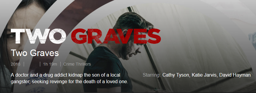 Congratulations to #24LittleHours very own Neal Ward see him in 'TwoGraves' now on @netflix  #britishfilm #revengethriller #netflix #featurefilm #actor  Stars: Cathy Tyson, Katie Jarvis, David Hayman Shantelle Rochester and Neal Ward Director: Gary Young<br>http://pic.twitter.com/0c9G8VxZeP