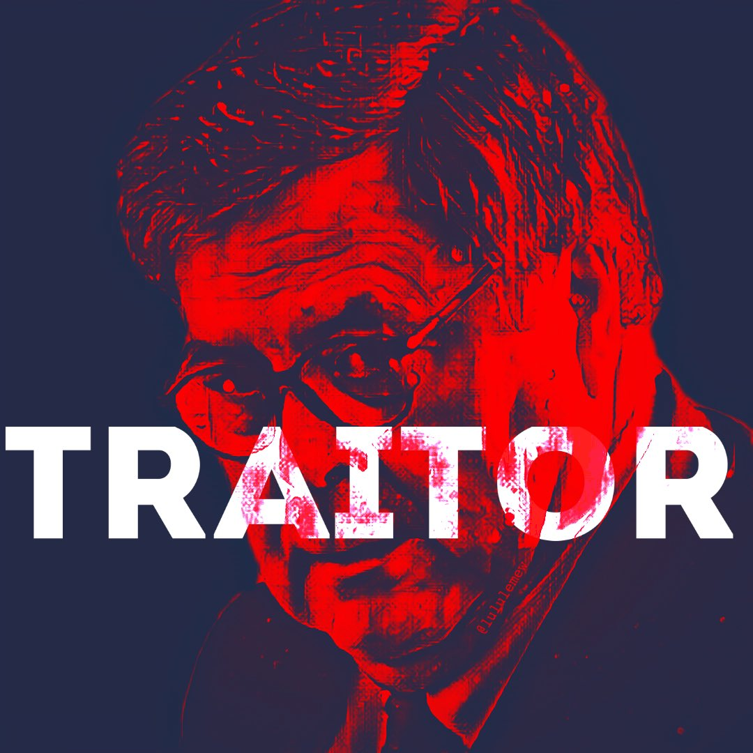 "ʟᴜʟᴜ ʟᴇ ᴍᴇᴡ ᕕ( ͡ ͡°‸↼‶)ᕗ on Twitter: ""TRAITOR noun: trai· tor 