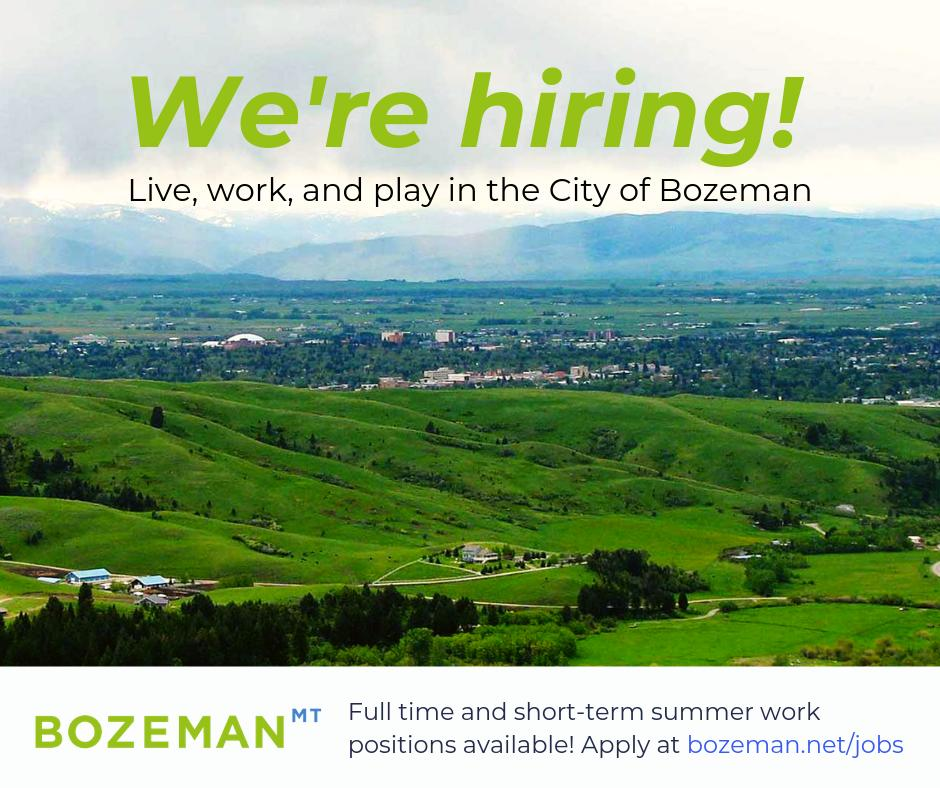 City of Bozeman, MT - @CityofBozeman Twitter Profile and Downloader