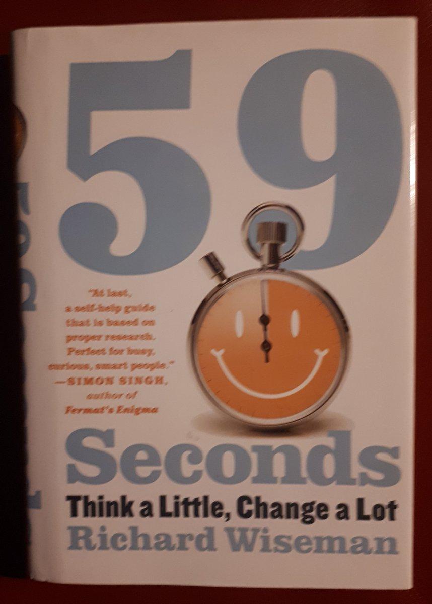 59 Seconds Richard Wiseman jedenmonateinneuesbuch hashtag on twitter