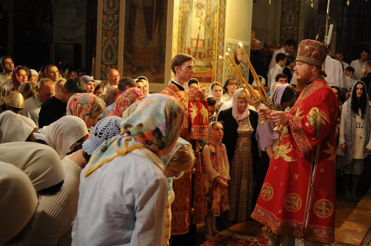 Пасхальная литургия картинки