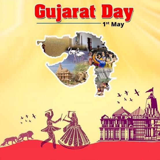 Today is Gujarat Foundation Day. It was today on 1st May 1960, 58 years ago that the existing states of Maharashtra and Gujarat were formed. . . Tag your friends and dont forget to hit like button.#navsari #navsarians #gujju #entertainmentpage #gujarati  Navsari 2019 નવસારીpic.twitter.com/jk1Iv5KkNS