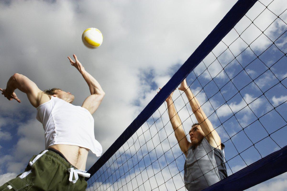 Картинка волейбола на улице