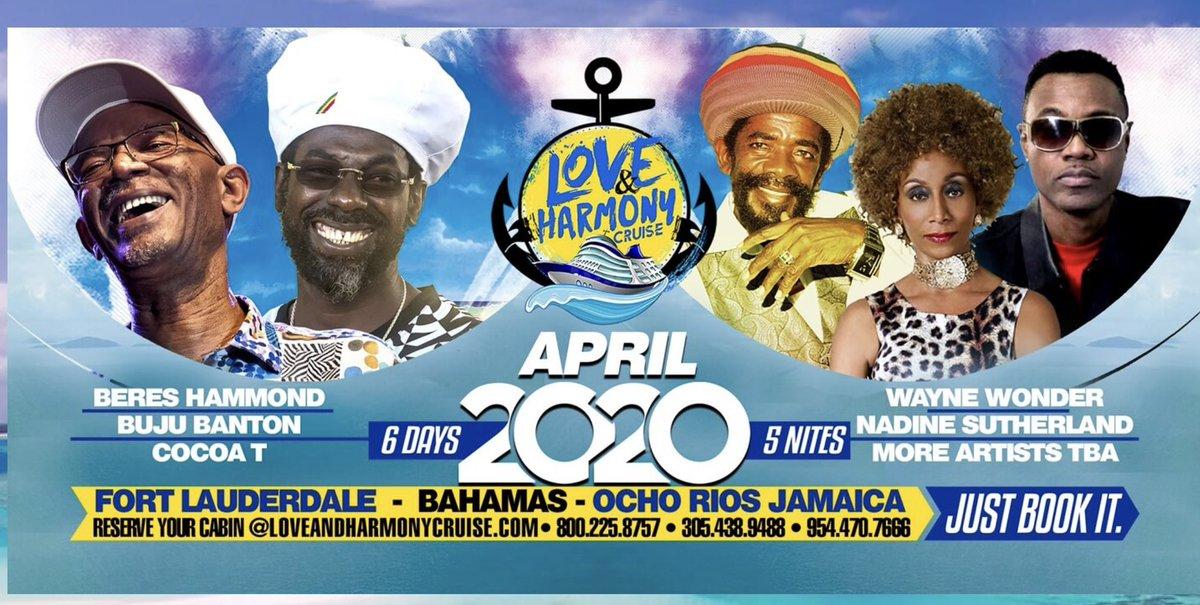 Jamrock Cruise 2020.Jamrock Reggae Cruise On Twitter The Wait Is Over As