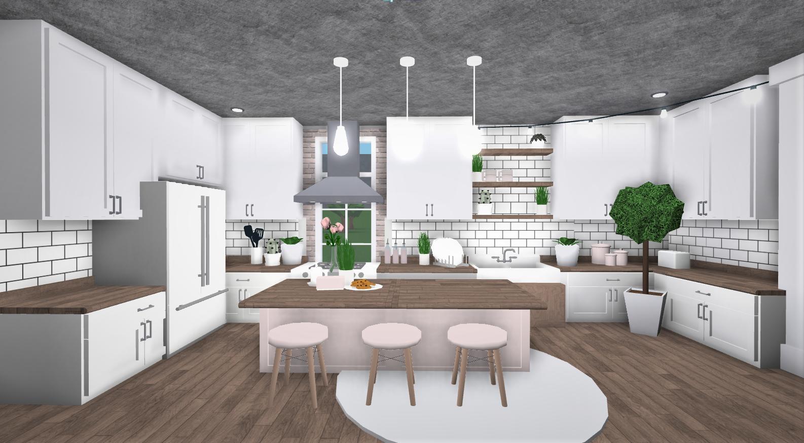 Cute Kitchen Ideas Bloxburg Kitchen