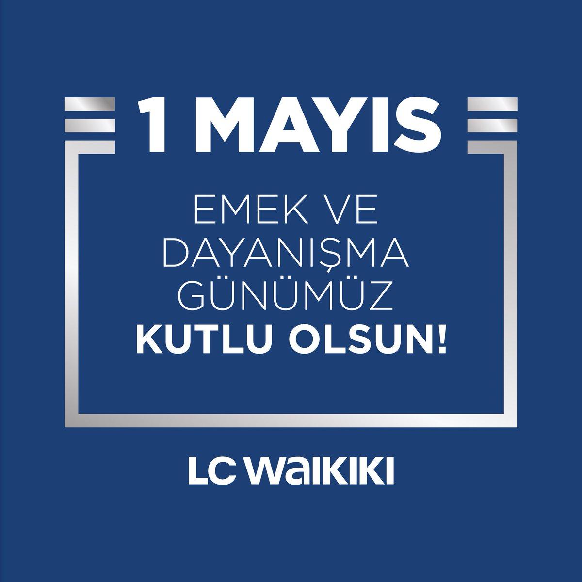 Emeği ve alın teriyle ekonomik kalkınmayı ve toplumsal refahı inşa eden tüm çalışanların, 1 Mayıs Emek ve Dayanışma Gününü yürekten kutluyoruz. #1MAYIS #lcwaikiki https://t.co/5LfNGpU2e5