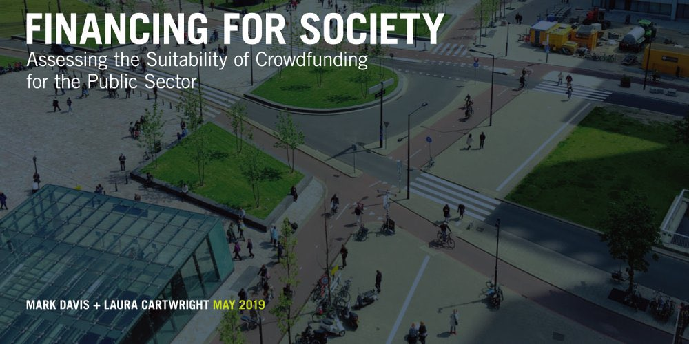 RT @BaumanInstitute Today, @LauraCartw and I publish our report assessing the suitability of investment-based crowdfunding for the public sector, having worked closely with six case studies - 3 local authorities and 3 NHS bodies - as our evidence base. https://t.co/Da9RIJ3Zwc #FinancingforSociety
