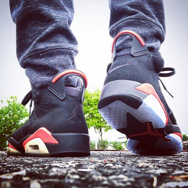 8925592e1de562 ... RETRO BLACK INFRARED  nike  aj  aj6  aj6retro  aj6retroog  airjordan   airjordan6  airjordan6retro  infrared6  sneakers  snkrs  sneakerhead   todayskicks ...