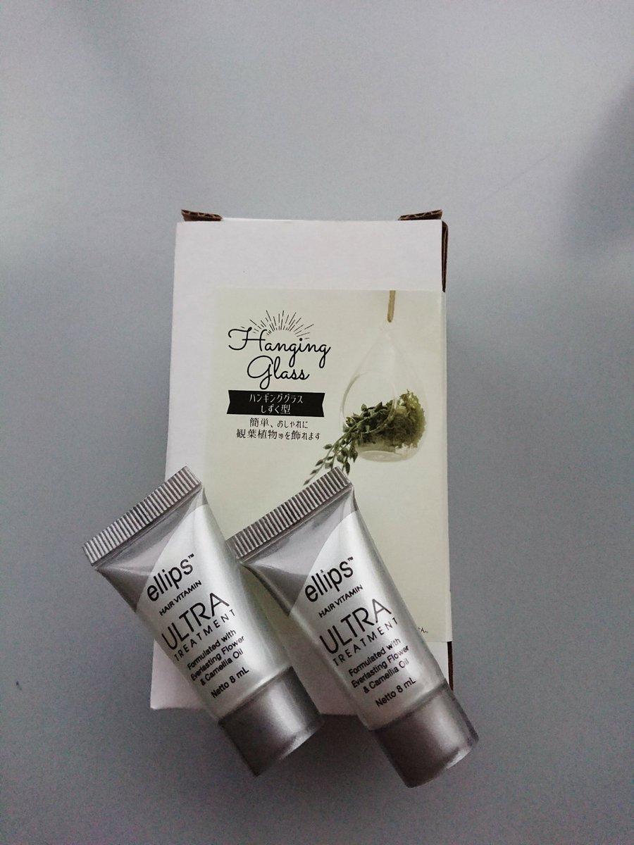 test ツイッターメディア - キャンドゥ購入品。 ハンギンググラスは天然石のディスプレイ用に。 Ellips はこれが香りも使い心地もこれが個人的には一番好き。  #天然石 #キャンドゥ #Ellips https://t.co/7eLeiQYIGI