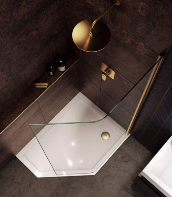 Aqata Launches Curved Shower Screen