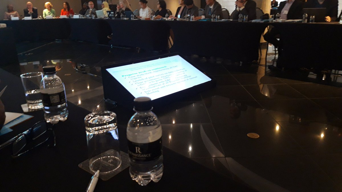 Participo en la reunión anual del Global Research Council en Sao Paulo. Más de cien agencias financiadoras y ejecutoras de I+D+¡. La primera sesión es sobre asuntos de género.