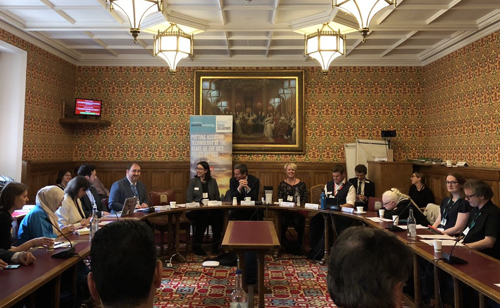 Great to take part in the @AT_APPG meeting today on behalf of @_noisolation discussing the new @educationgovuk #EdTech strategy #EdTechForSEND #NoIsolation #AV1