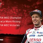 Brendon Hartley joins us with a considerable amount of @FIAWEC experience having competed in nearly 40 WEC races since 2012, including 6 #LeMans24 starts! 😯  Welcome to the team @BrendonHartley! 🇳🇿  #Toyota #TS050 #PushingTheLimitsForBetter