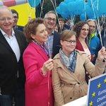 Image for the Tweet beginning: Live vom ehemaligen Grenzübergang #Vaals