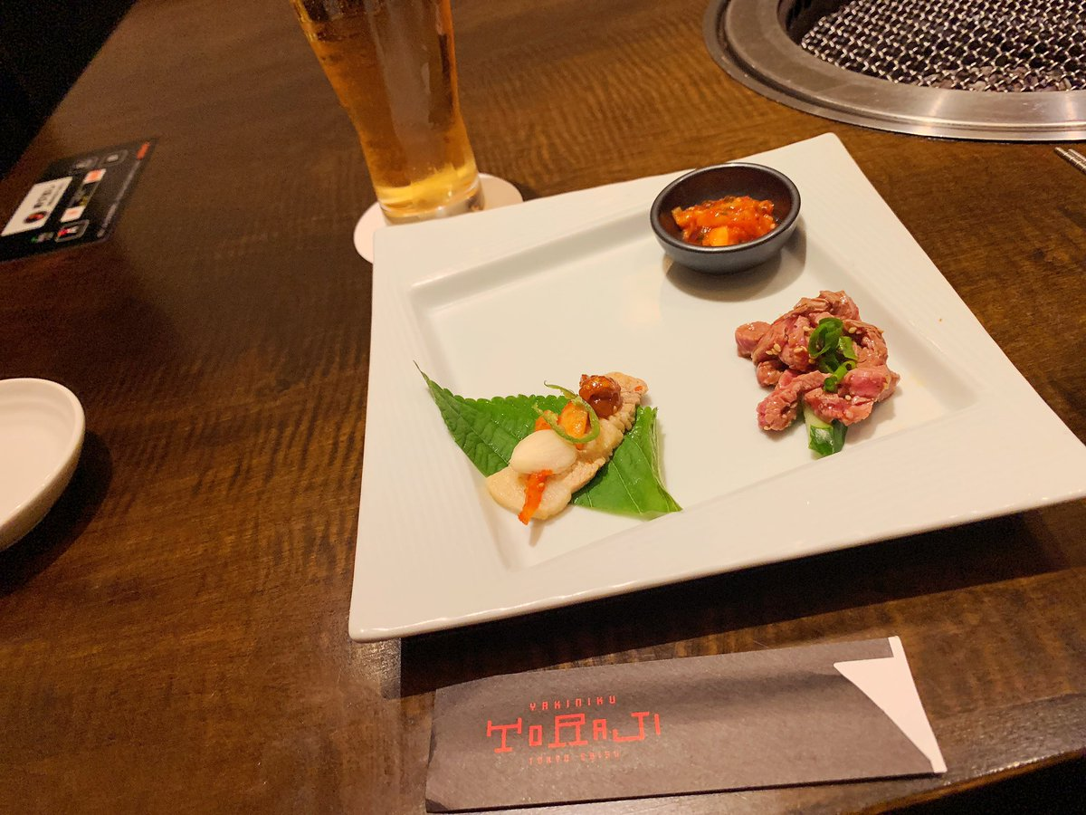 就職祝いのお肉〜❤️❤️❤️❤️美味しすぎる(((o(*゚▽゚*)o)))♡