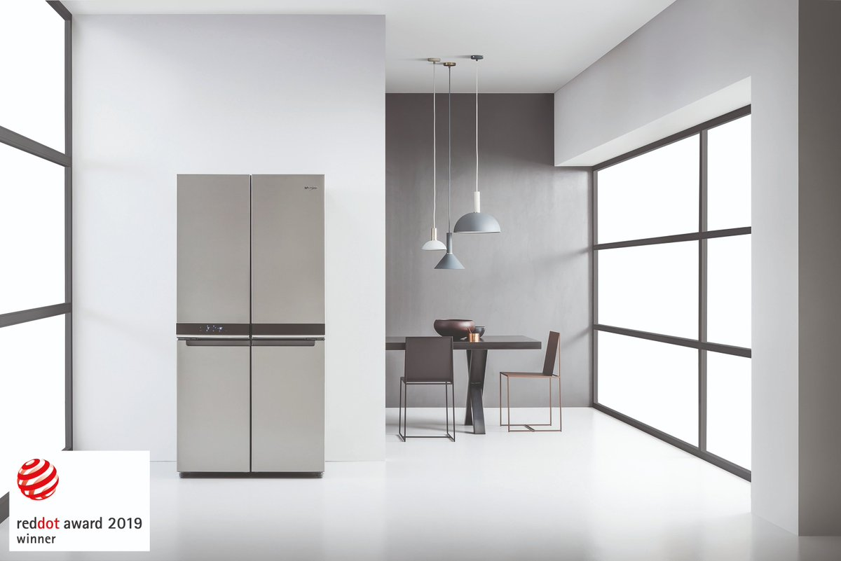 test Twitter Media - The Whirlpool freestanding 4 Doors fridge freezer (WQ9 B1L) has been honoured with a prestigious 2019 Red Dot Award for high quality design and innovation. Read the full story on our blog, available here: https://t.co/LT3kkLzf2I https://t.co/uIfAFThMni