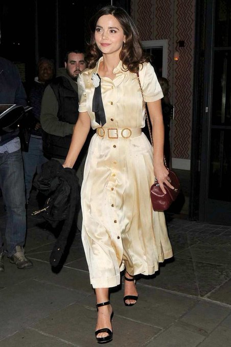 **Happy 33rd Birthday Jenna Coleman** [at Ham Yard Hotel in London, England on Tuesday 23rd of April]