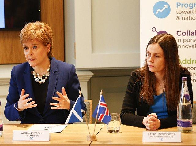 WEGo opening session Iceland Scotland