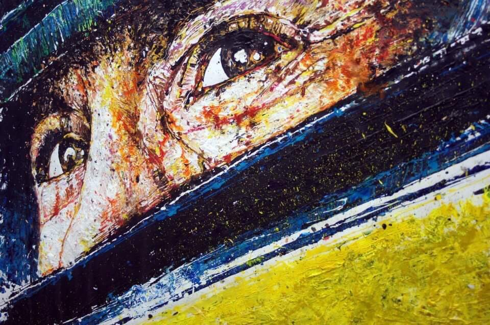 As the title of the @SENNAmovie read: No Fear, No Limits, No Equal.  In 2012 the #SENNA movie poster artwork was created as a @Popbangcolour artwork @Autosport_Show  It was one of the hardest, but most important artworks I've created & a tribute to the @F1 legend.   #Senna25 #F1