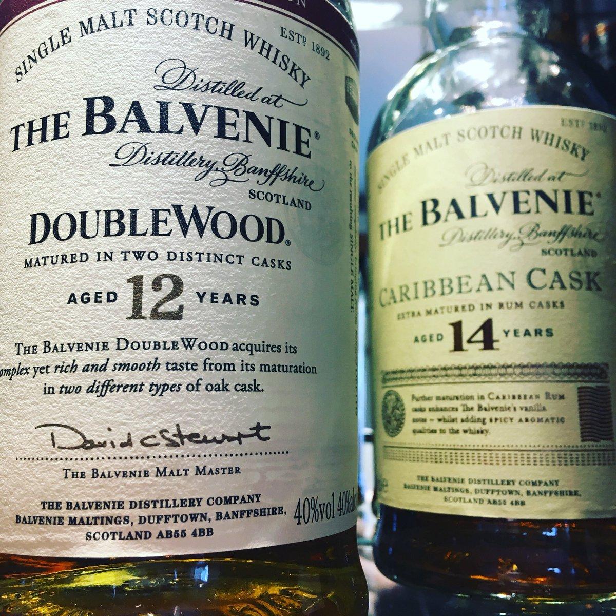RT @EddMather: RT @HOS_Hudds: Wednesday whisky? Why not! Which whisky will u want? #headofsteamhuddersfield #tasty #whisky #balvenie #singlemaltwhisky