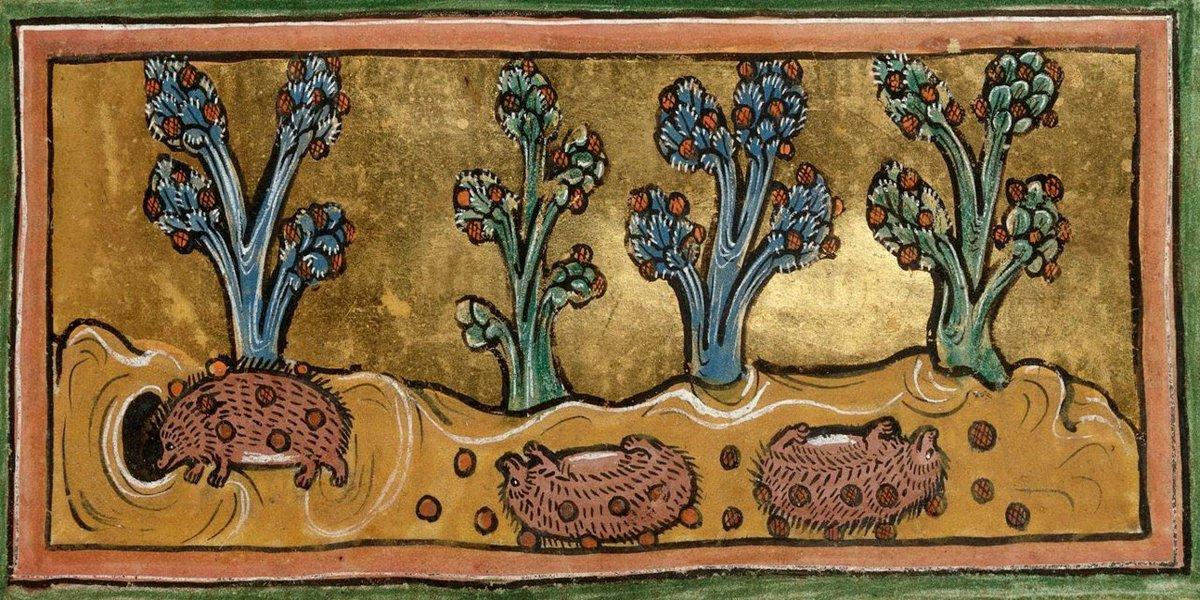 중세시대 그림의 고증