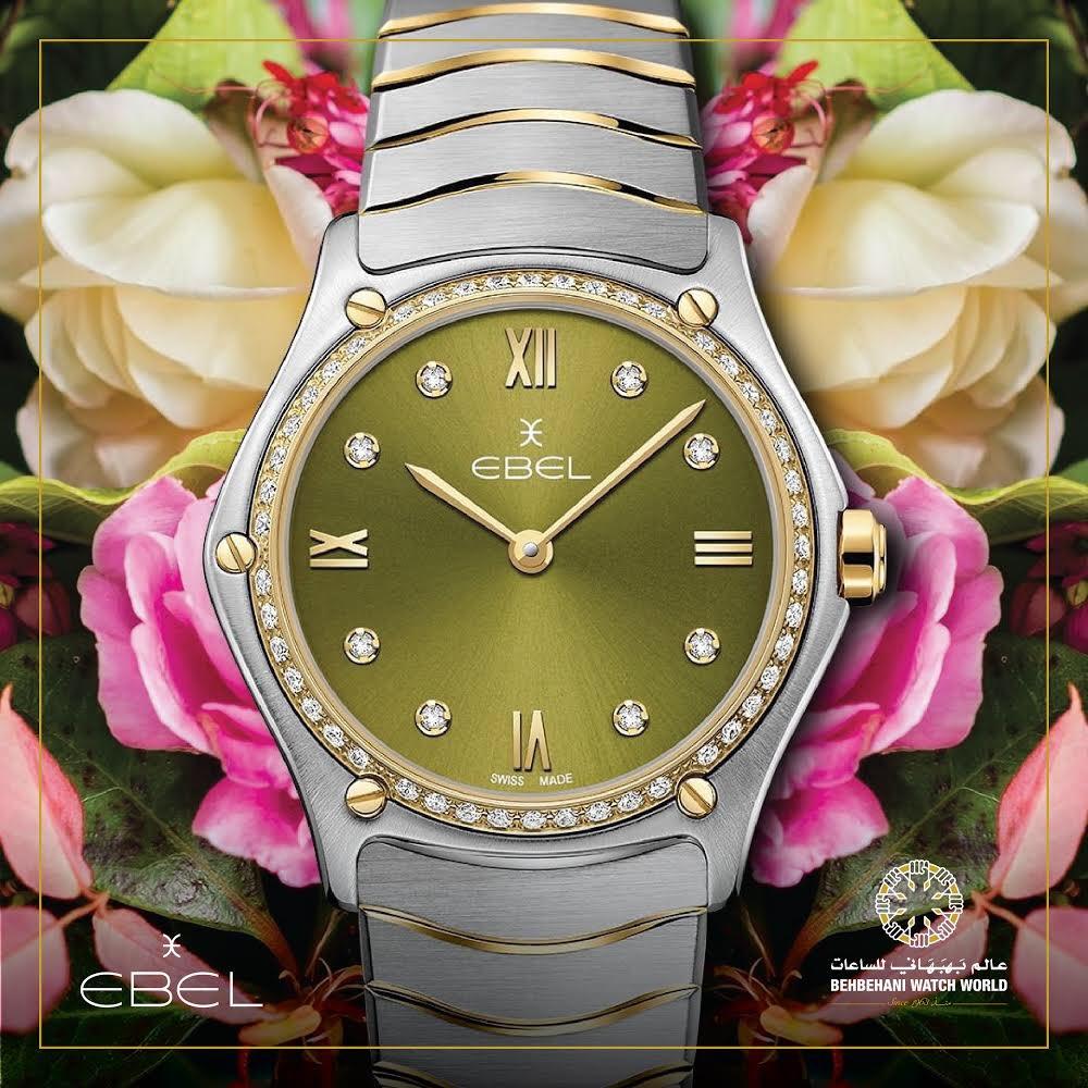 c16ac6004 للأنوثة عنوان، هو ساعة ايبل Ebel Watch is the identity of femininity 🌸 # Ebel