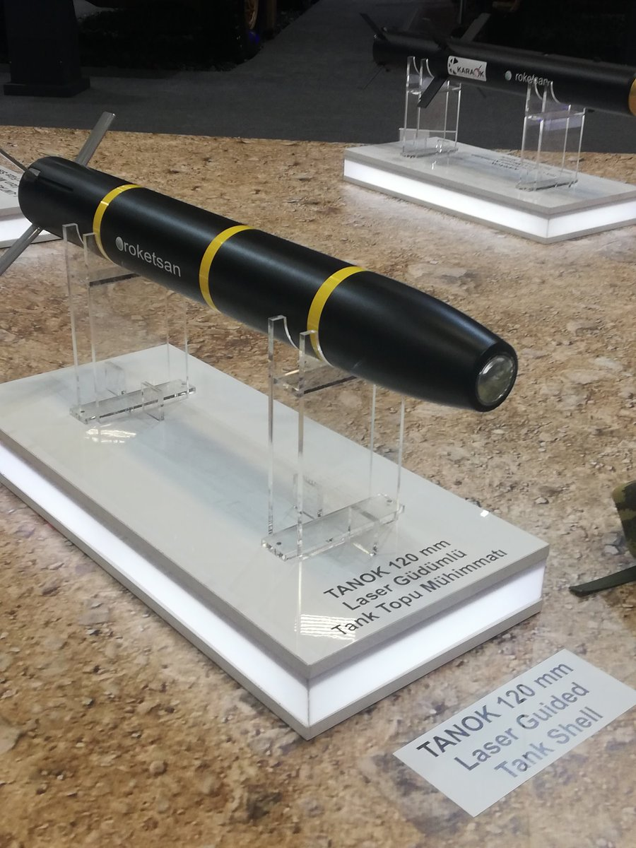 تعرف على قذيفه دبابات Tanok الموجهه ليزريا من انتاج شركة roketsan التركيه  D5evRRQWkAAM1yo