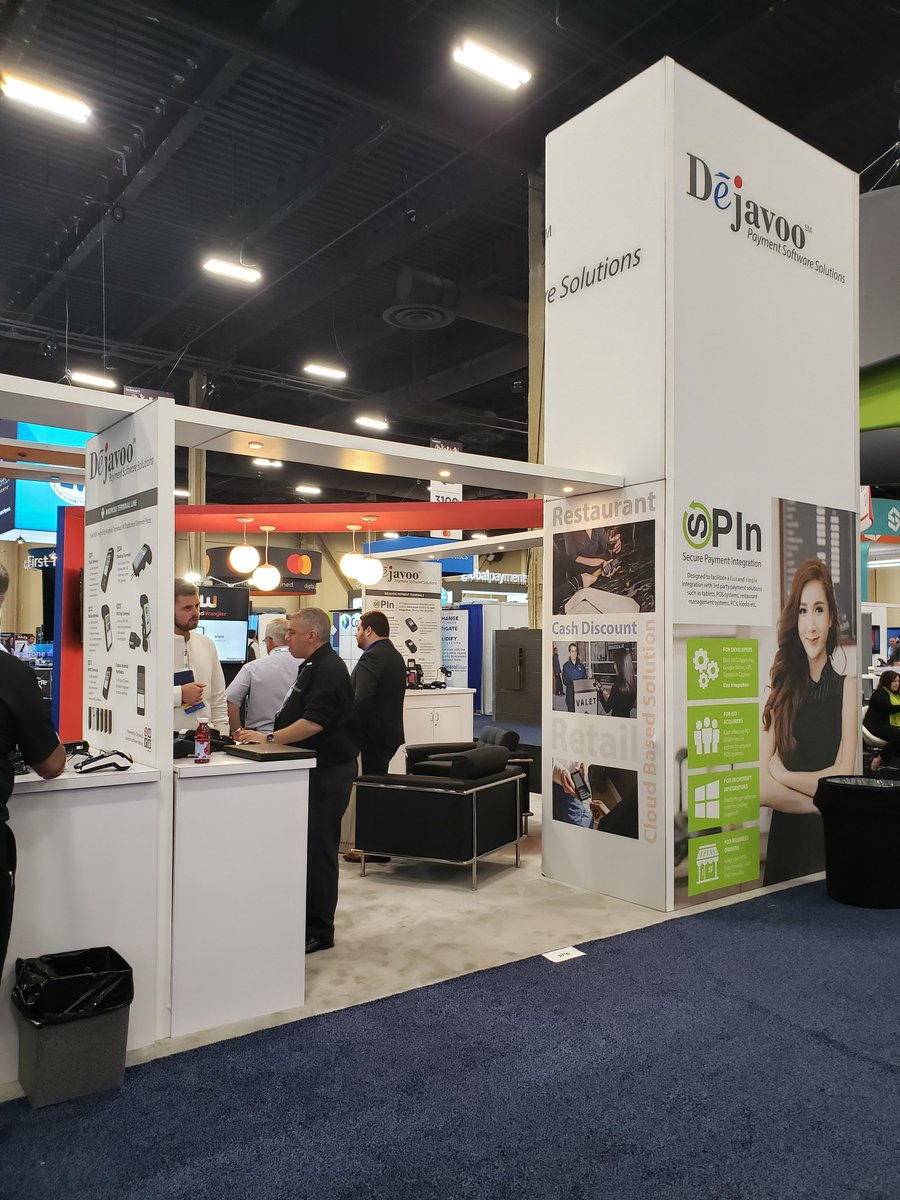 test Twitter Media - Our partner @SystemsDejavoo is showcasing our #SpacePole Duratilt mount and MultiGrip plate paired with their Z1 pin pad device, and it looks FABULOUS! Visit their booth #2716 at the @ElecTranAssoc show https://t.co/Yx92zQitcV