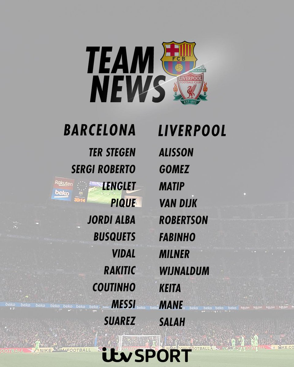 Barcelona 3 0 Liverpool In Game And Post Match Discussion