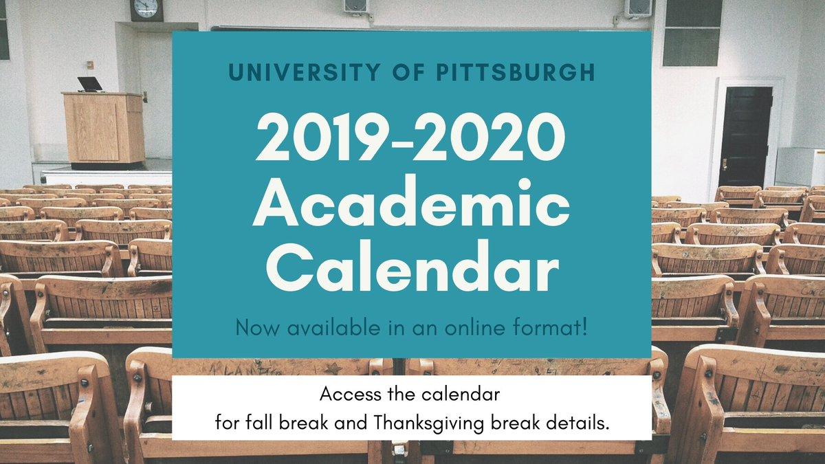 Pitt Academic Calendar.Pitt Univ Registrar Pittregistrar Twitter