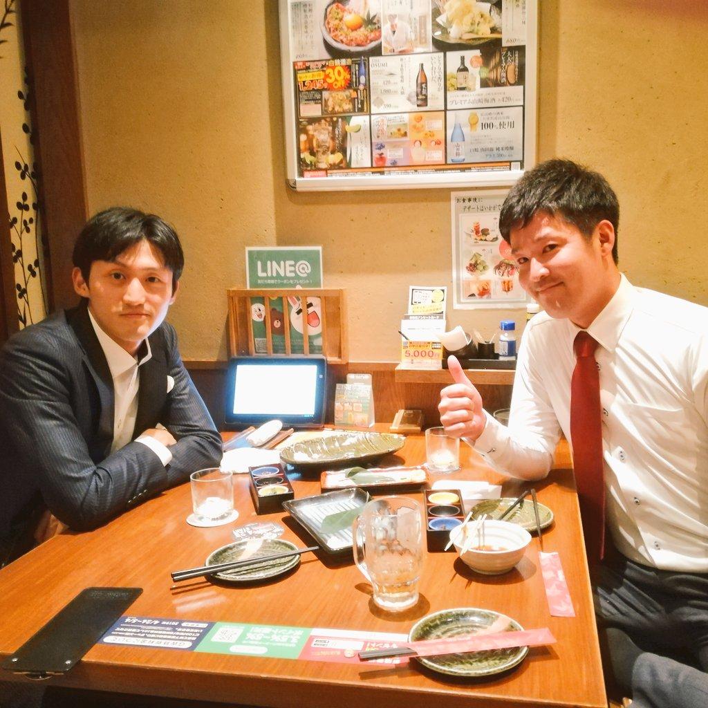 えさきの結婚式の後は田村さんと飲み!@urumuchiB3Mこの方、Twitterを通して転職のご相談をしていただきご入社までサポートした方。でも地方在住の方だったためお会いするのは今日が初。Twitterきっかけで誰かの人生が変わるって本当に凄いことだと改めて実感。