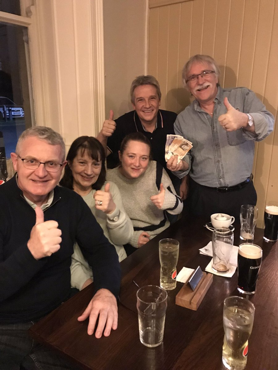 @BorderMinstrel1 this could be you tonight! Another big winner expected £100 Jackpot prize up for grabs, plus #highorlow card game and our usual goodies in our regular #wednesdayevenining #quiznight £1 to play 7.15 start