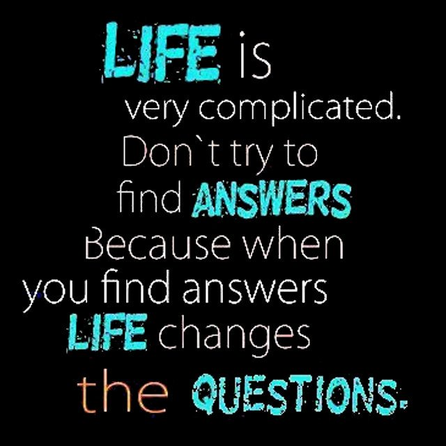 Inspirational Quotes On Twitter Life Is Very Complicated Dont