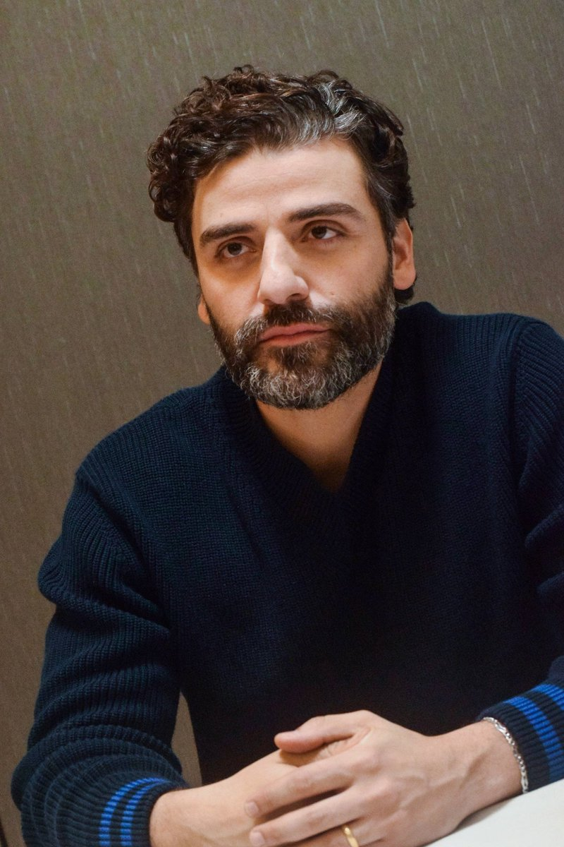 RT @archiveoscar: oscar isaac at the press conference for triple frontier in new york (3rd march, 2019) https://t.co/i7gXrfmknR