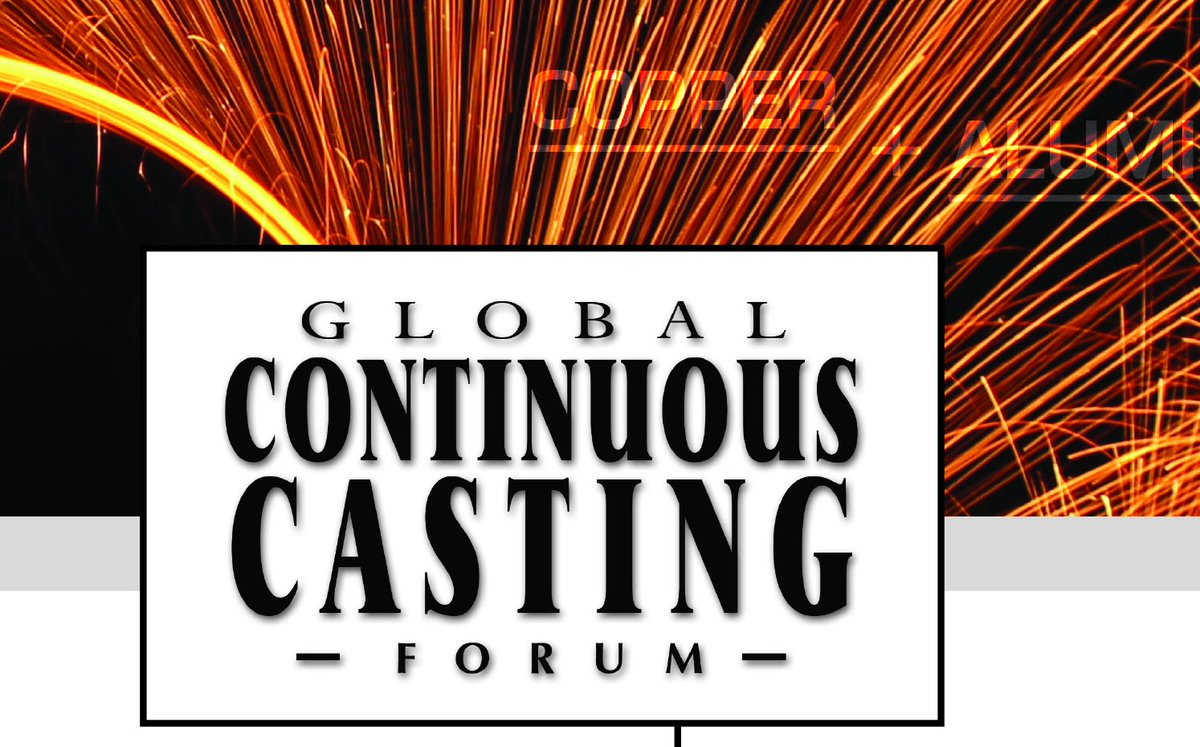 Copper and aluminum together again at the Global Continuous Casting Forum at Interwire in Atlanta, GA, May 13-16, 2019. A must-attend event for contcast pros! Register now: http://www.interwire19.com #ContinuousCasting