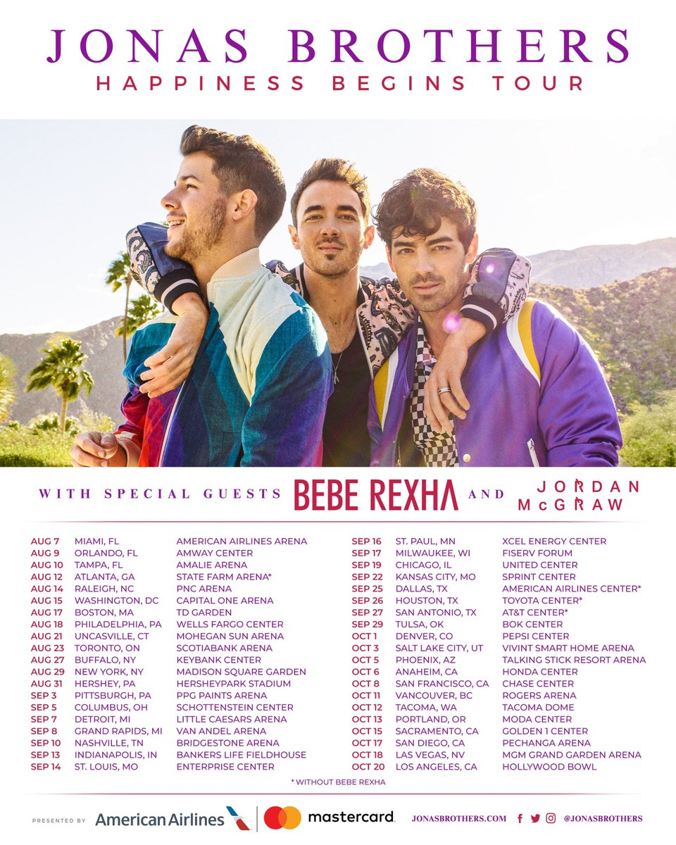 Image result for bebe rexha jonas brother tour