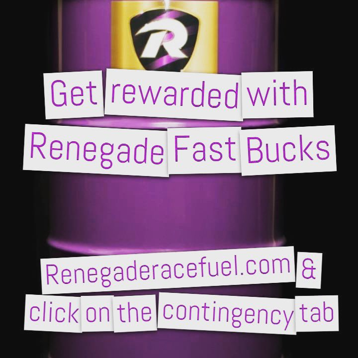 Renegade Race Fuel >> Renegade Race Fuel On Twitter Get Rewarded For Winning