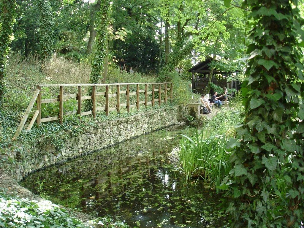 Paname Paris On Twitter Le Jardin Sauvage Saint Vincent