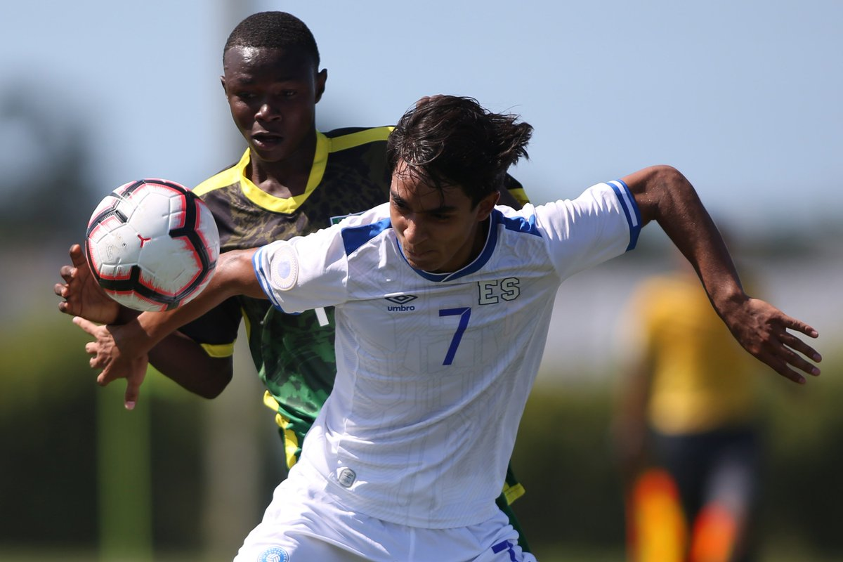 Sub17 Campeonato CONCACAF 2019 [Copa Mundo Brasil 2019] El Salvador 4 Guyana 0. D5fiR2dXkAQmsMO
