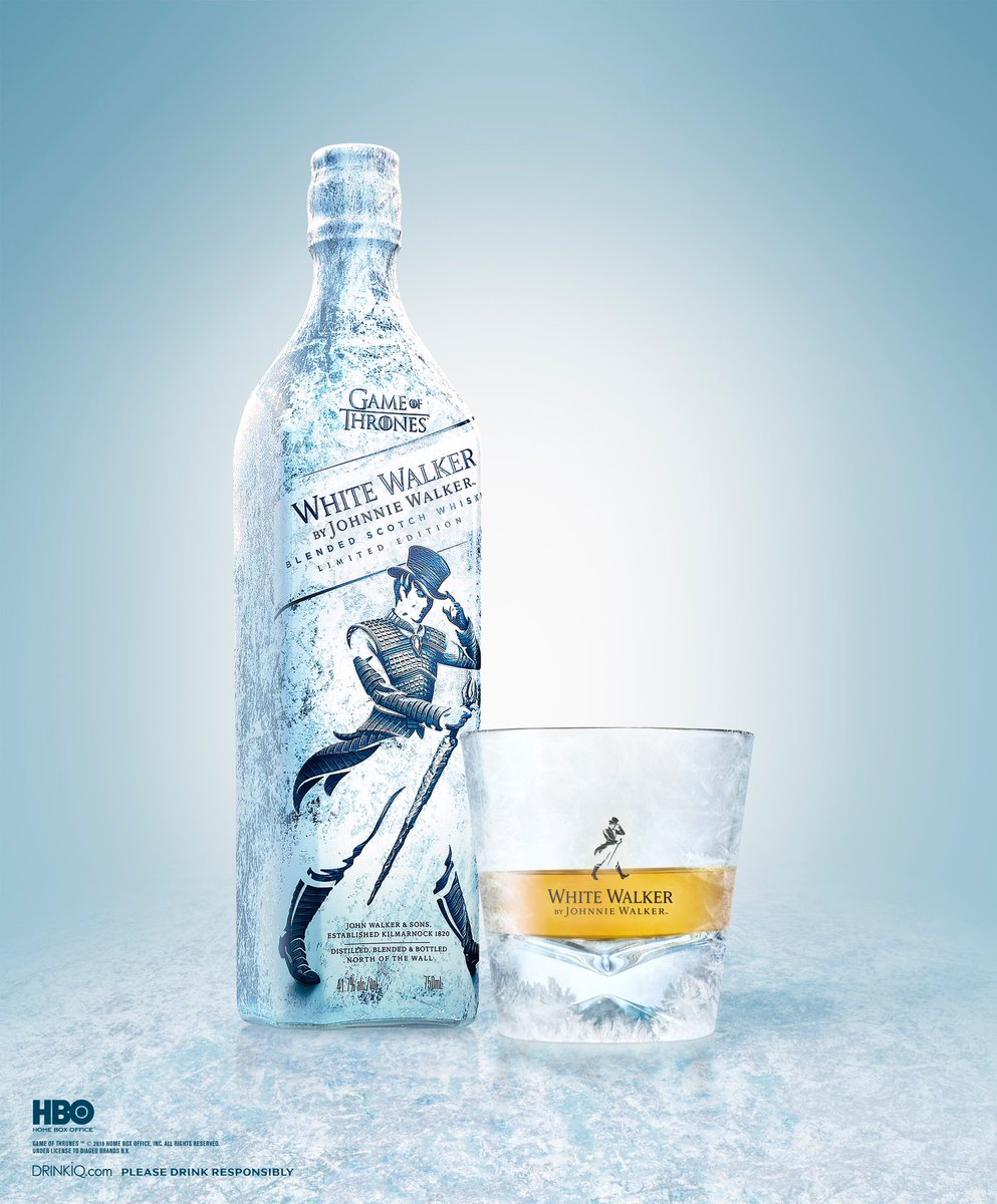 Toast the fallen with a glass of #JWWhiteWalker Whisky. #JohnnieWalker #KeepWalking<br>http://pic.twitter.com/ePHtHdFcDp