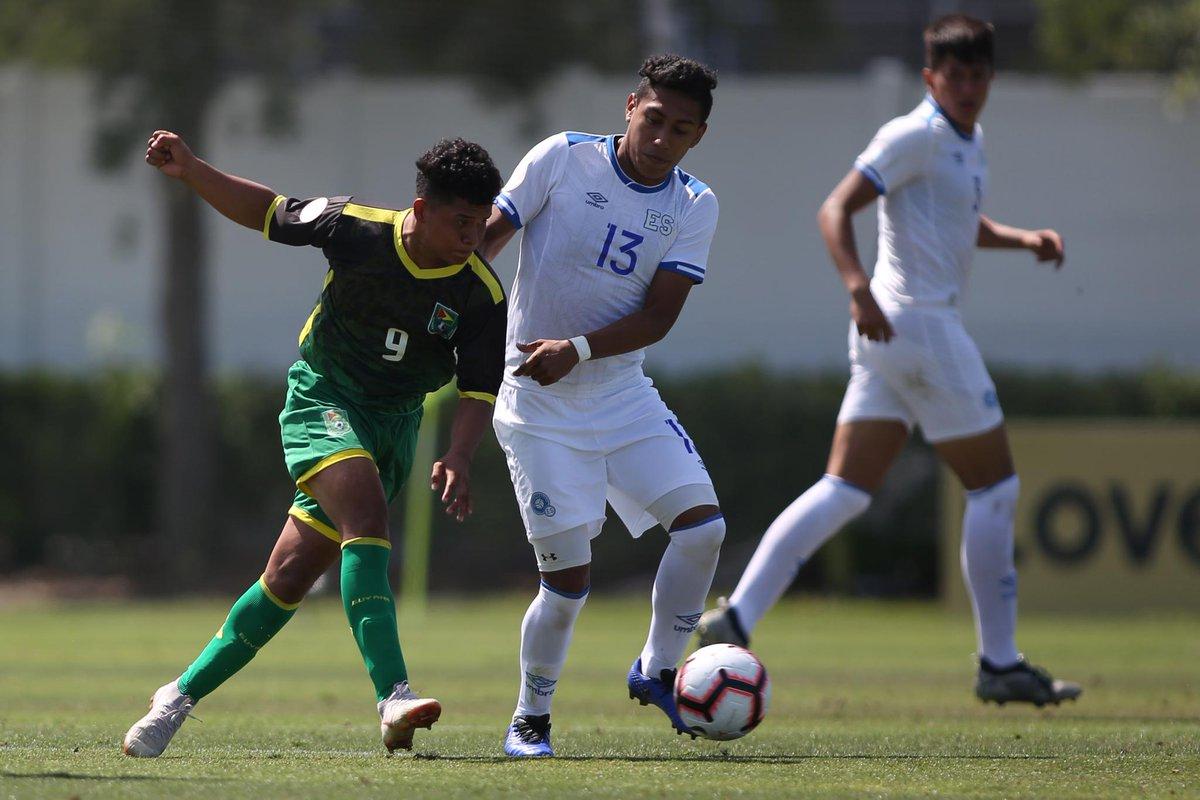 Sub17 Campeonato CONCACAF 2019 [Copa Mundo Brasil 2019] El Salvador 4 Guyana 0. D5fnR4OXoAEI2p_