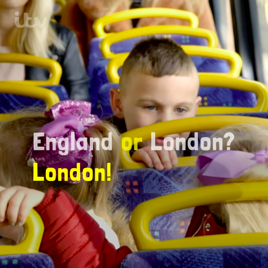 Would you let your child travel across London? A fascinating new series hopes to answer this and many more questions... Planet Child. Starts tonight 9pm @ITV #PlanetChild