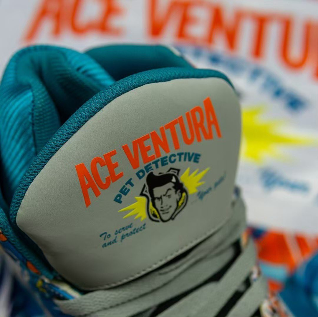 """b30b839f040 MACHE275 gets his first official collab with @EwingAthletics. Check out  these """"Ace Ventura"""" Ewing 33 His.pic.twitter.com/1sa4HEXkIU"""
