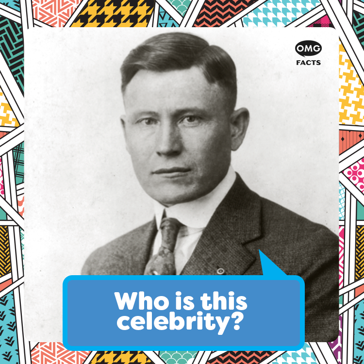 OMGFacts: This restaurateur and iconic spokesperson once shot a rival after discovering his competitor was painting over his advertising for the second time. #OMGGuessWho https://t.co/8bYYW2LH5w