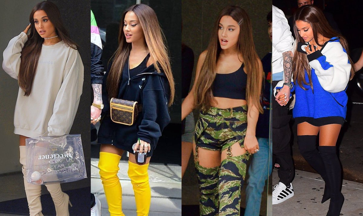 still not over these looks she gave us last year  #BBMAsAchievement Ariana Grande <br>http://pic.twitter.com/G85SDNVPPD