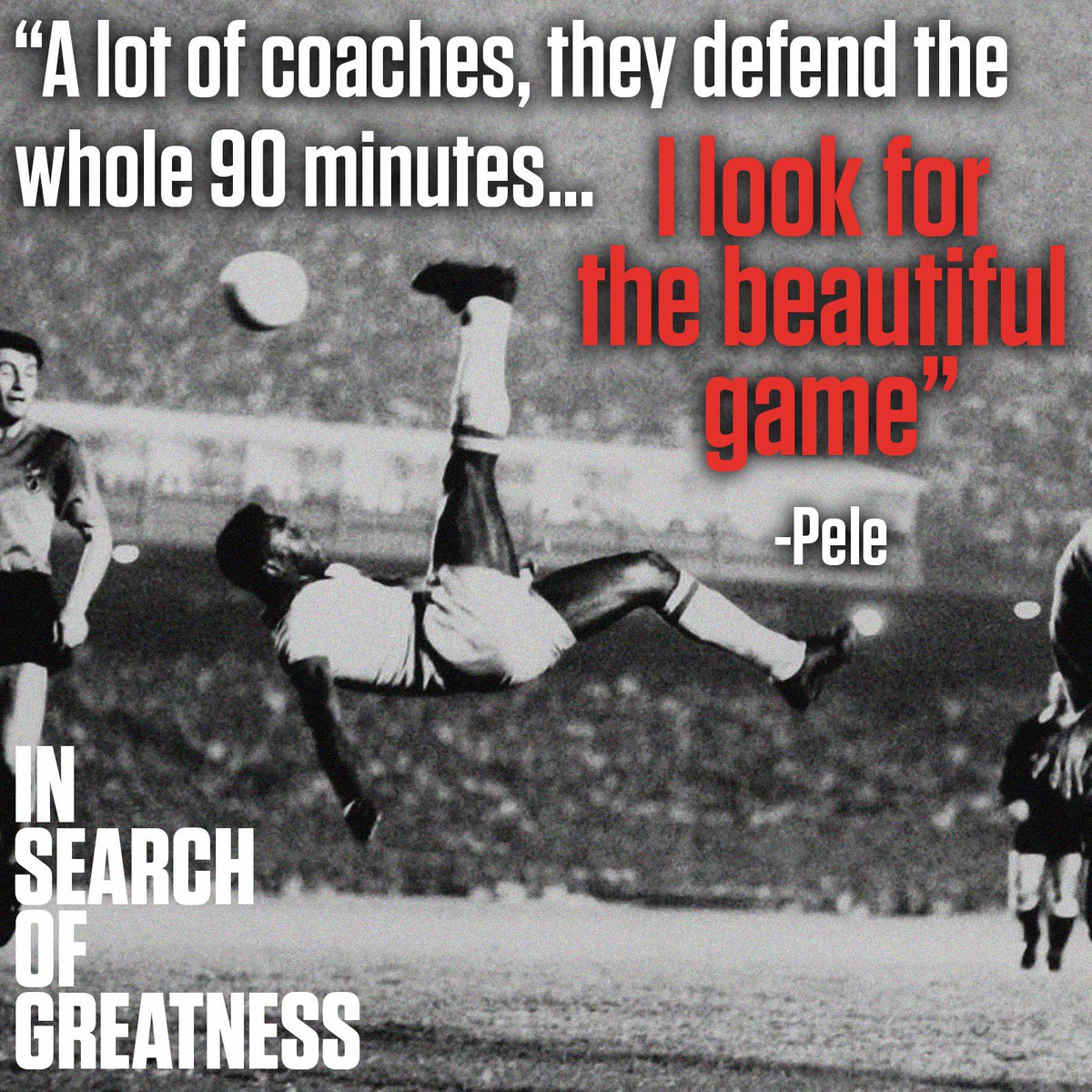 "In Search of Greatness on Twitter: ""To Pele and other greats, good coaching  made all the difference: ""Zagallo was a coach and a player. He let the players  play forward. He let"