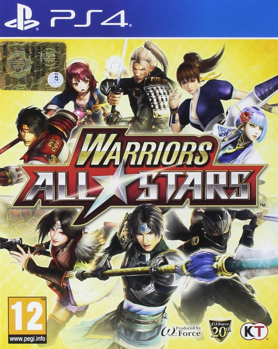 ¡#WarriorsAllStars para #PS4 ahora en Amazon a 18,17€!  ✔️ Textos en Inglés  (Envío Gratis a partir de 29€)  #ofertaijj #cosasdelaps4 @KochMedia_es  PS4: