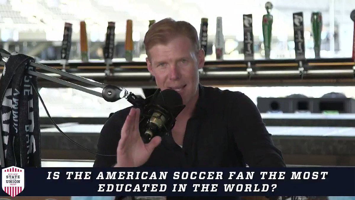 Is the American soccer fan the most educated in the world?   @AlexiLalas breaks down why he thinks so ⬇️