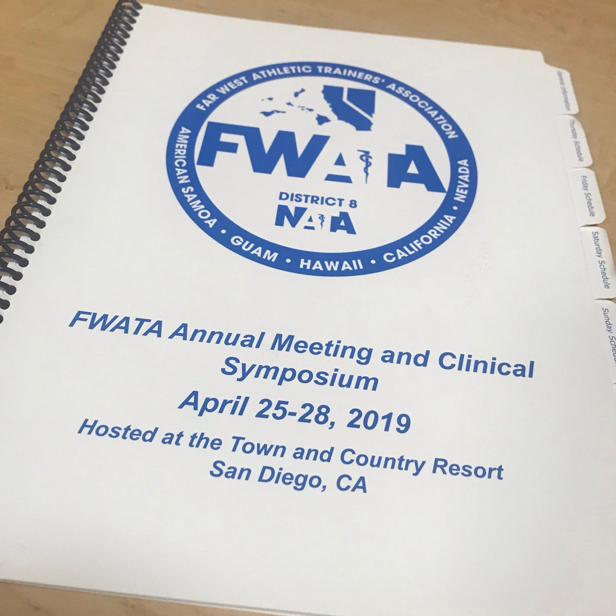 Associate Director, @Sera115 and APGAT, Sanam Rezazadeh presented to both the general session and student sessions this past weekend at FWATA's 2019 Annual Meeting and Clinical Symposium in San Diego.  #GoCard #2and7 #dontfold #FWATA #District8 #CATA #CEU #worklove <br>http://pic.twitter.com/u2lINV3JEH