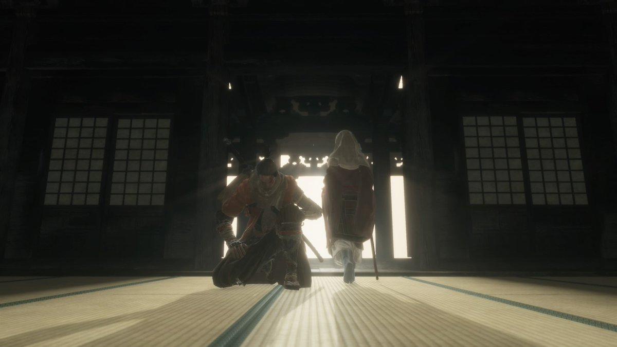 畳のへりを踏む竜の忍#SEKIRO #PS4share